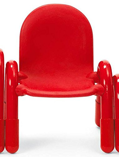 Angeles 7 in. Chair in Red - Baseline Angeles Chair