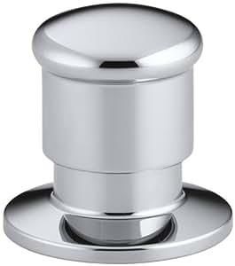 KOHLER K-9530-CP Deck Mount Two-Way Diverter Valve, Polished Chrome