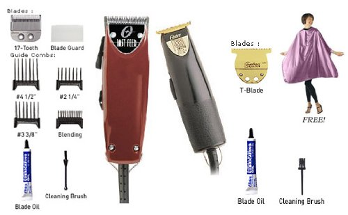 Oster Fast Feed Clipper & Finish-line Trimmer Combo With Free (Oster Finish Line)