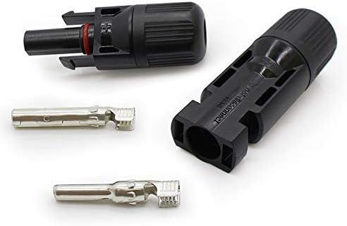 VIKOCELL 5 Paar PV Stecker MC4 Kabel Solarstecker  für Solarmodul