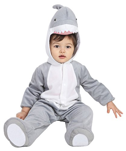Best Halloween Costumes For Baby Girl (Baby Halloween Shark Costume for Baby Boys and Girls - From 24 Months to 36 Months - Perfect Cosplay & Theme party Dress Up Outfit Gift (L, 24-36Month))