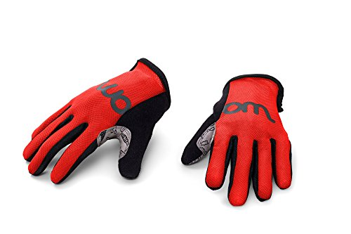 woom Children Gloves (Ages 2-5), Red, Size 5