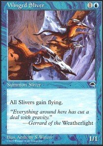 Magic: the Gathering - Winged Sliver - Tempest