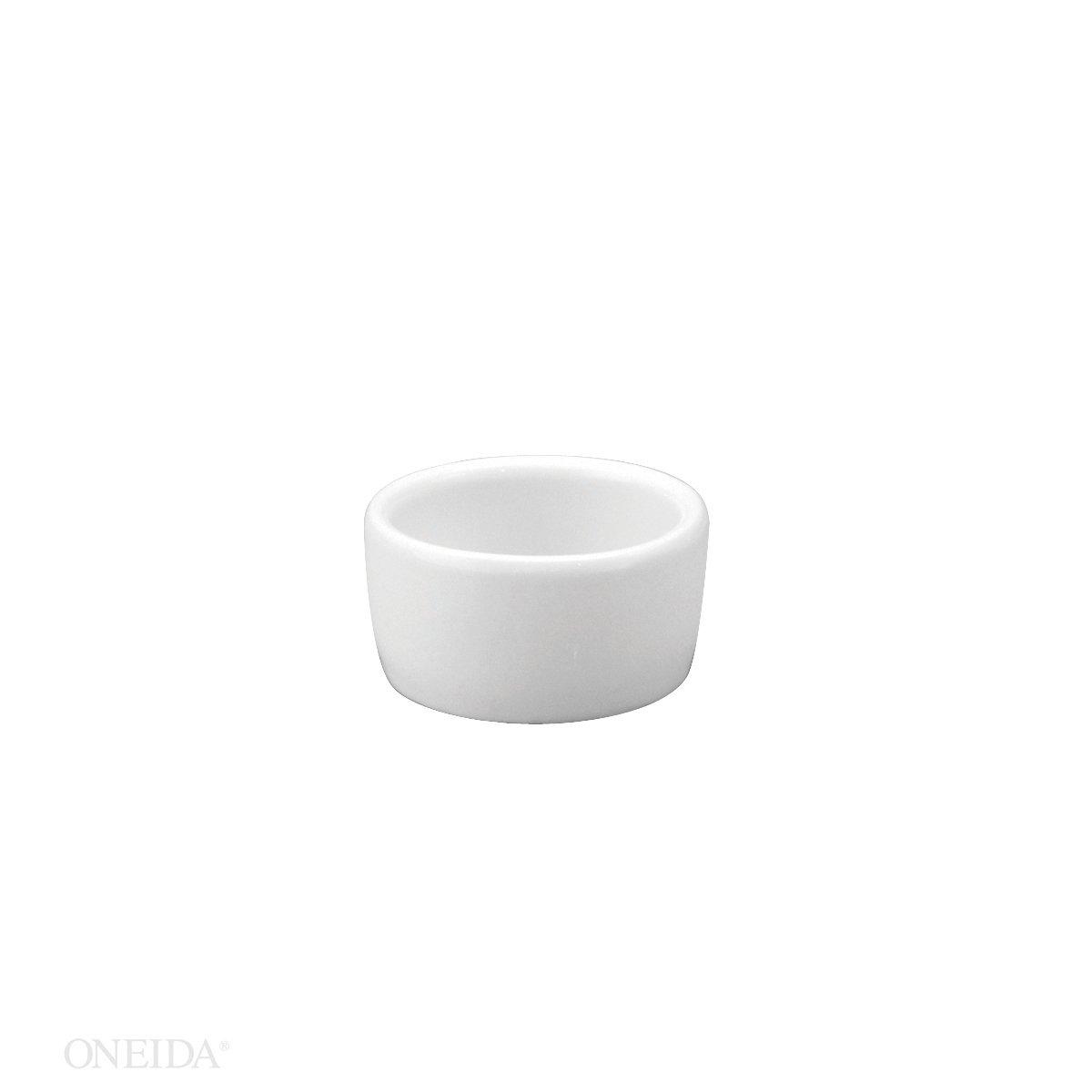 Oneida Foodservice F8000000613 Bright White Ramekin 3 1/2 Oz (Set of 36)