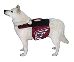 Outward Hound Kyjen   Excursion Dog Backpack (Large, 30-40 Inch Girth, for Dogs 50-79 lbs.)