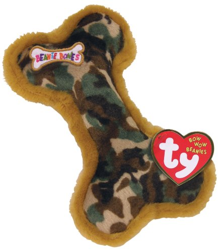 Bow Bones Wow (Bow Wow Beanies - CAMOUFLAGE the Small Bone (Camo Color - Smaller Size) [Toy])