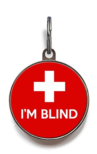 Used, Wag-A-Tude Tags I'm Blind Custom Medical Pet Tag (Small) for sale  Delivered anywhere in USA
