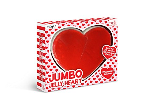Treat Factory Strawberry Flavoured Jumbo Jelly Heart Sweet