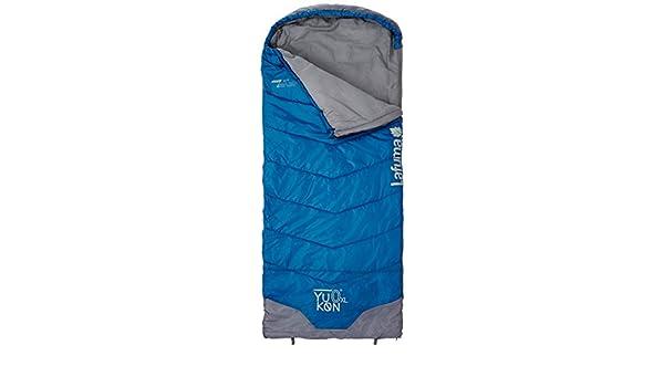 Lafuma - Saco de Dormir Yukon XL, hasta 0°C, Yukon, Bleu Foncé, Taille D: Amazon.es: Deportes y aire libre