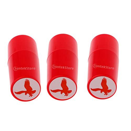- Baosity 3pcs Colorfast Quick-Dry Golf Ball Stamp Stamper Marker Impression Seal Eagle