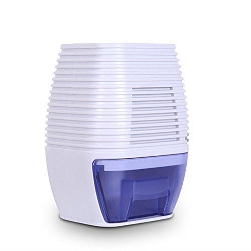 Dehumidifier, Greatic 300ML Mini Home Dehumidifier Air Dryer for Bedroom Bathroom Kitchen