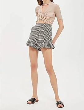 grossiste 1ee58 66013 Jolie PU&PU Femme Street Chic Taille Normale Short Pantalon ...