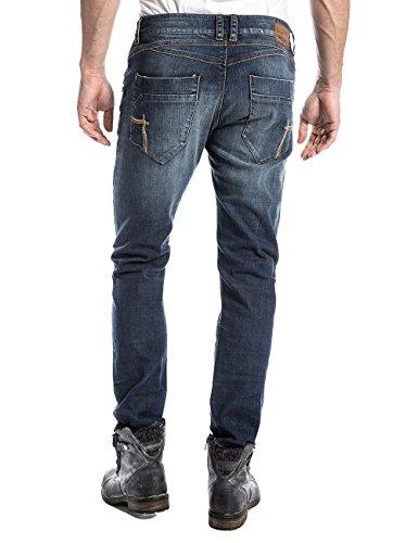 Taylortz Azul Jeans Hombre Late Timezone Wash para dWRSvdq
