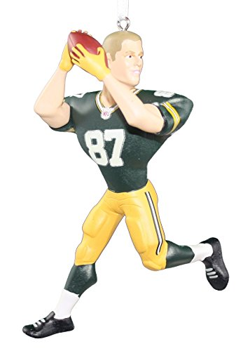 (Hallmark NFL Green Bay Packers Jordy Nelson Christmas Ornaments)
