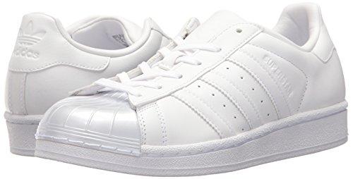 Adidas Donna white Glossy black W Toe W Originalssuperstar Superstar w White rfU4r1