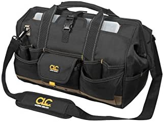 CLC Custom Leathercraft 1535 Tote Bag with Top Plastic Tray, 18 in., 37 Pocket