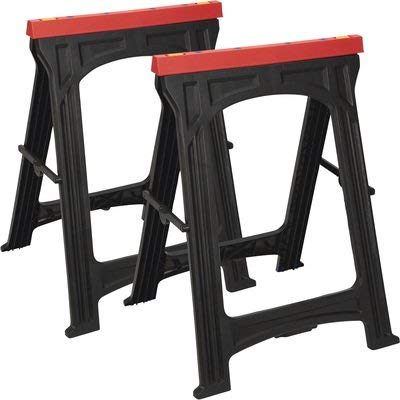 Fantastic Ironton Foldable Sawhorses 2 Pk 350 Lb Capacity Ocoug Best Dining Table And Chair Ideas Images Ocougorg