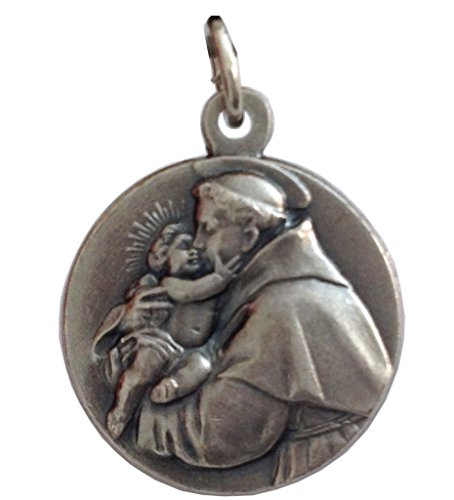 Saint Anthony of Padua Silver Medal - The Patron Saints Medals Anthony Medal Ring
