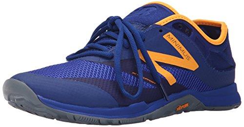 New Balance Hombre 20v5 Minimus Training Shoe, Blue/Orange, 41.5 2E EU
