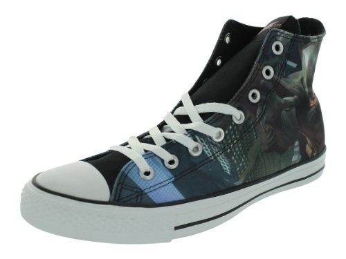 Converse Men's CT Hi The Dark Knight Rises Black/Chili Casual Shoes 4 Men US / 6 Women US (Shows Converse)