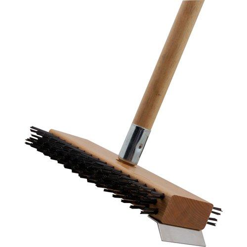 BAKERS PRIDE Broiler/Grill Brush with Scraper Steel Bristles T5014V