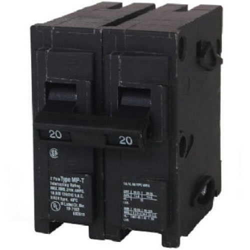 240v Breaker - MP220 20-Amp Double Pole Type MP-T Circuit Breaker