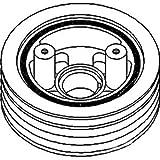 John Deere Pulley Crankshaft Dampener Part No: A-AR57241