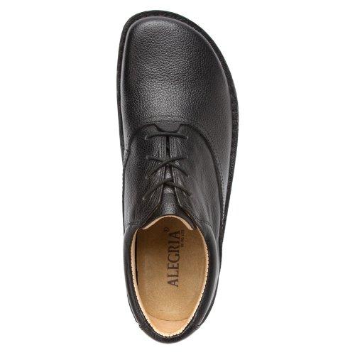 Alegria Schuster Black Tumble Leather 6yRQNRAvcV