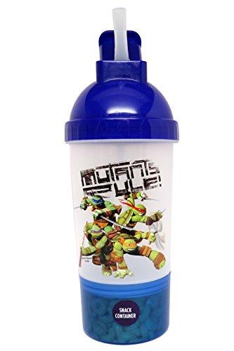 Nickelodeon Bottle and Snack Container Set, Teenage Mutant Ninja Turtles