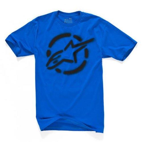 Alpinestars Go Joe Mens Short Sleeve T-Shirt Royal Blue 2XL