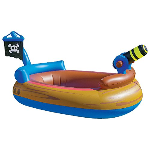 Pirate Ship Pool - Sun Pleasure Novelty Pool With Water Spray