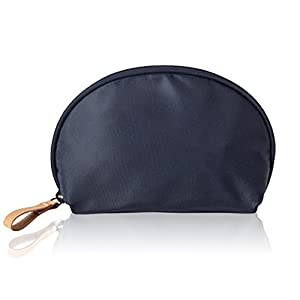 Makeup Organizer,Mossio Handle Jewelry Vintage Fashion Toiletry Pouch Navy Blue