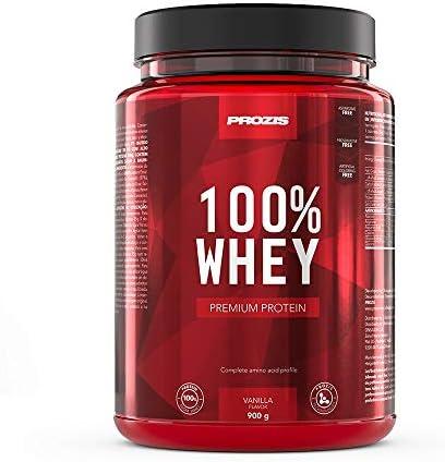 Prozis 100% Whey Premium Protein, Vainilla - 900 gr