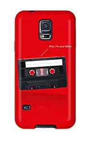 YRAZmtP955WevvI ZippyDoritEduard Awesome Case Cover Compatible With Galaxy S5 - Tape And Ipod