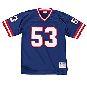 New York Giants Mitchell & Ness 1986 Harry Carson #53 Replica Throwback Jersey - Blue