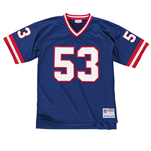 New York Giants Mitchell & Ness 1986 Harry Carson #53 Replica Throwback Jersey - Blue (XXL)