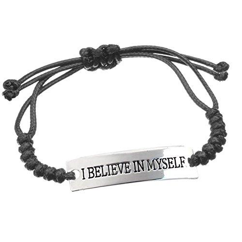 Adjustable Inspirational Bracelet I Reminder Confidence