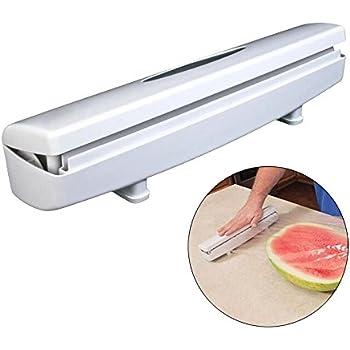 Superior Plastic Wrap Cutter, Food Freshness Wraptastic Dispenser Preservative Film  Unwinding Cutting Foil Cling Wrap Kitchen
