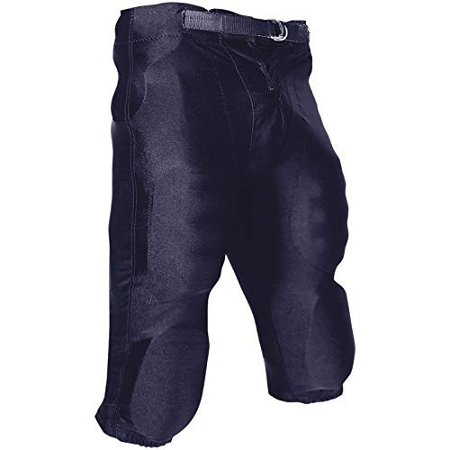 CHAMPRO Youth Stretch Dazzle Snap Football Pant Navy Large Champro Dazzle Football Pants