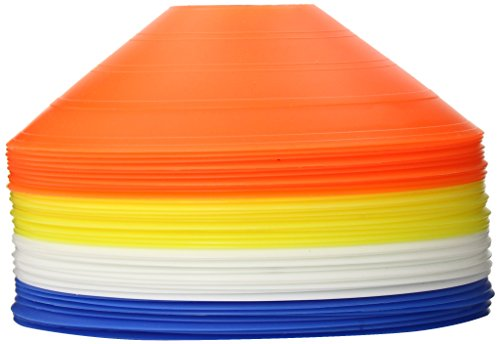 Power Systems Short Low Profile Cone Set with Stacking Pin, 7 x 4.5 Inches, 40-Pack, Multicolor (30090)