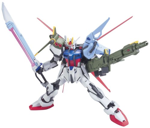 Bandai Hobby R17 Perfect Strike High Grade Remaster 1/144 Gundam Seed Action (New Bandai Gundam Seed)