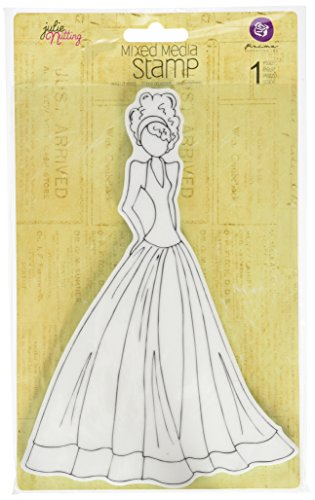 C&T PUBLISHING Mixed Media Doll Cling Rubber Stamps, Lorrena by C&T PUBLISHING