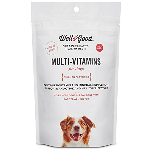 Well & Good Adult Stage Daily Soft Chews Dog Vitamins, 60 count