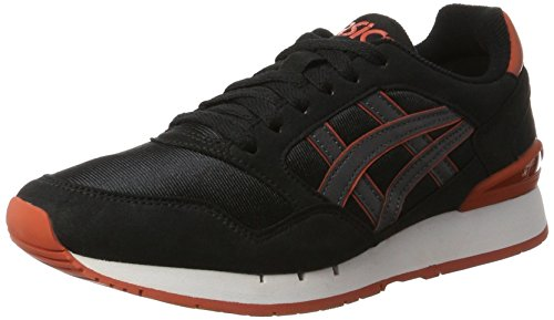 Asics Gel Noir gris Adulte Basses atlanis Sneakers Mixte CzCOq