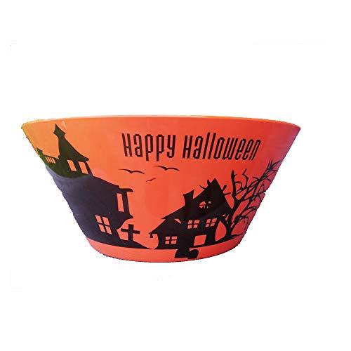 (Halloween Candy Bowl Orange 10