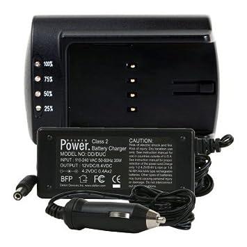 Delkin - Cargador de batería Dual Universal para cámara ...