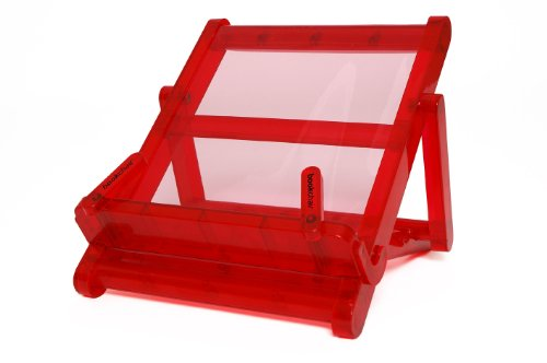 Bookchair Regular Medium Transparent Red from Thinking Gifts