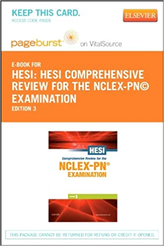 HESI Comprehensive Review for the NCLEX-PN® Examination - Elsevier