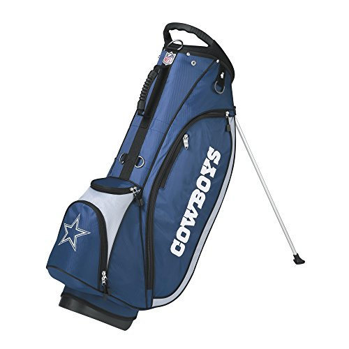 wilson-nfl-dallas-cowboys-carry-golf-bag-navy-grey-one-size