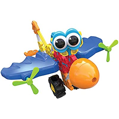 K'NEX Kid Wings & Wheels Building Set -  65 Pieces - Ages 3+ - Preschool Educational Toy: Toys & Games
